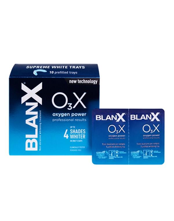 Капы отбеливающие Сила Кислорода Supreme White Trays O3X, BlanX