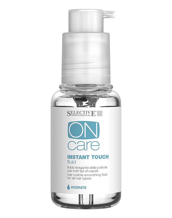 Флюид для разглаживания кутикулы всех типов волос Instant Touch Fluid, Selective, 50 мл недорого
