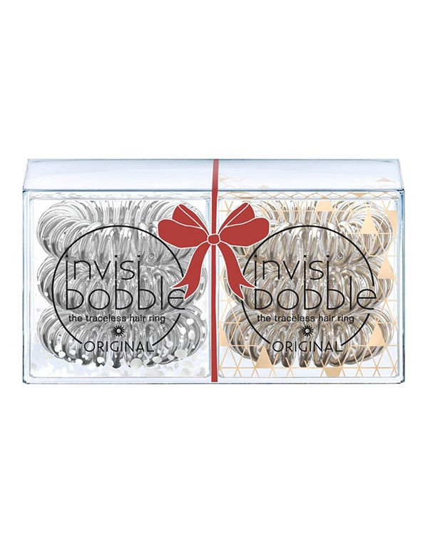 Аксессуары и расходники Invisibobble Резинка-браслет для волос invisibobble Holiday Duo Pack резинка браслет для волос