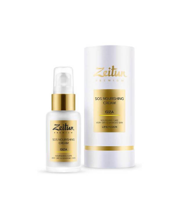 SOS-крем восстанавливающий GIZA для очень сухой кожи Zeitun zeitun premium giza sos nourishing cream восстанавливающий sos крем для лица для очень сухой кожи 50 мл