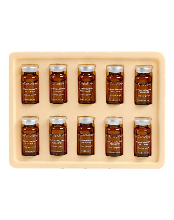 Косметика для депиляции Cristaline Гель, замедляющий рост волос Cristaline, 10мл х 10шт