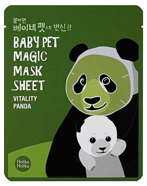 Тканевая маска-мордочка против темных кругов под глазами (Панда), Holika Holika от Созвездие Красоты