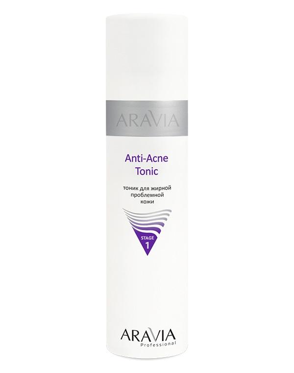 Тоник для жирной проблемной кожи Anti-Acne Tonic ARAVIA Professional, 250 мл green mama тоник для жирной кожи брусника и чистотел 300 мл