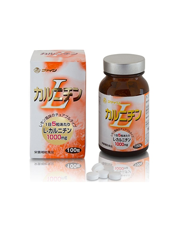 Биологически активная добавка к пище L-карнитин с витамином В2 №150, Fine фото