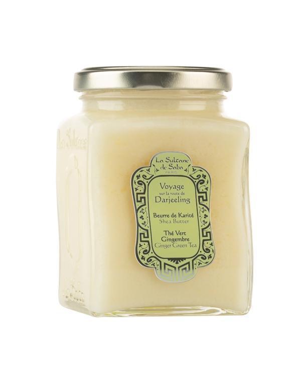 Масло карите для тела и волос Зеленый чай и имбирь 300млLaSultaneDeSaba черное мыло для лица и тела с эвкалиптом la sultane de saba savon noir a l'eucalyptus 200 мл