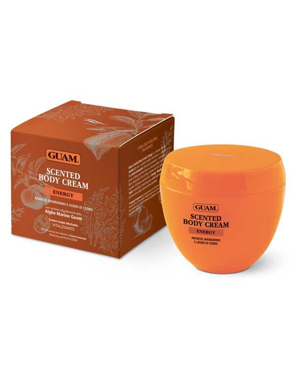 Купить Крем, бальзам GUAM, Крем для тела ароматический «Энергия и Тонус» 200 мл GUAM, ИТАЛИЯ