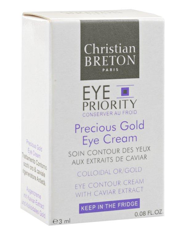 Косметический набор Christian Breton Набор от морщин вокруг глаз Активный + крем Золотая драгоценность для области вокруг глаз Christian Breton