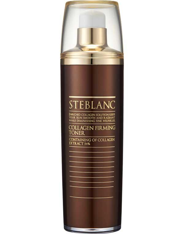 Купить Тоник, лосьон Steblanc, Тонер лифтинг для лица с коллагеном Collagen Firming Toner Steblanc, КОРЕЯ, РЕСПУБЛИКА