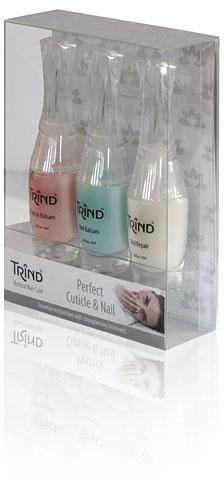 Косметический набор TrindКосметика для ногтей<br>Набор от голландской марки Trind «Идеальные ногти» - это комплект эффективных средств для бережного ухода за ногтями, каждое из которых внесет свой вклад в красоту и здоровый вид ваших рук.<br><br>Бренды: Trind<br>Вид товара: Косметический набор<br>Область ухода: Ногти<br>Назначение: Дизайн ногтей, Укрепление и восстановление ногтей