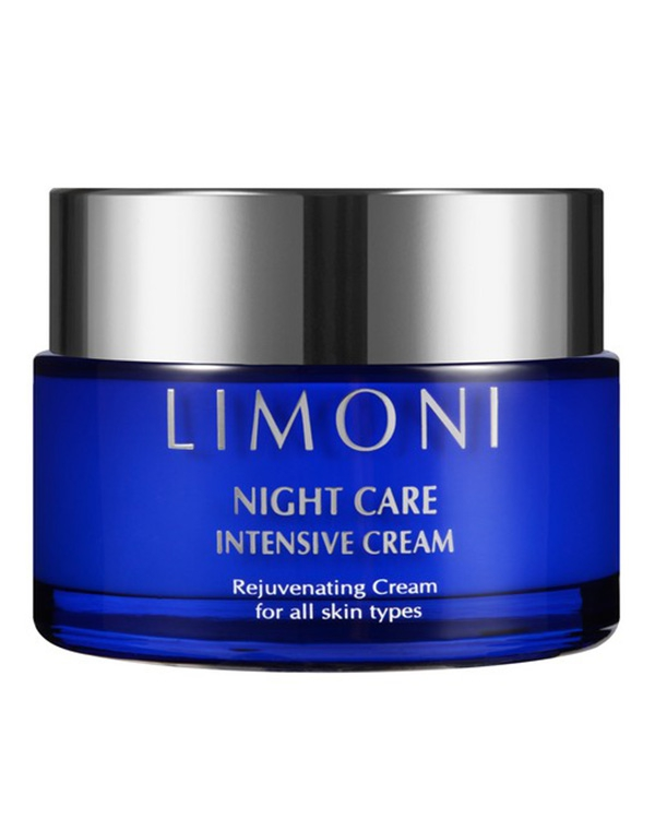 Крем для лица ночной восстанавливающий Night Care Intensive Cream Limoni, 50 мл