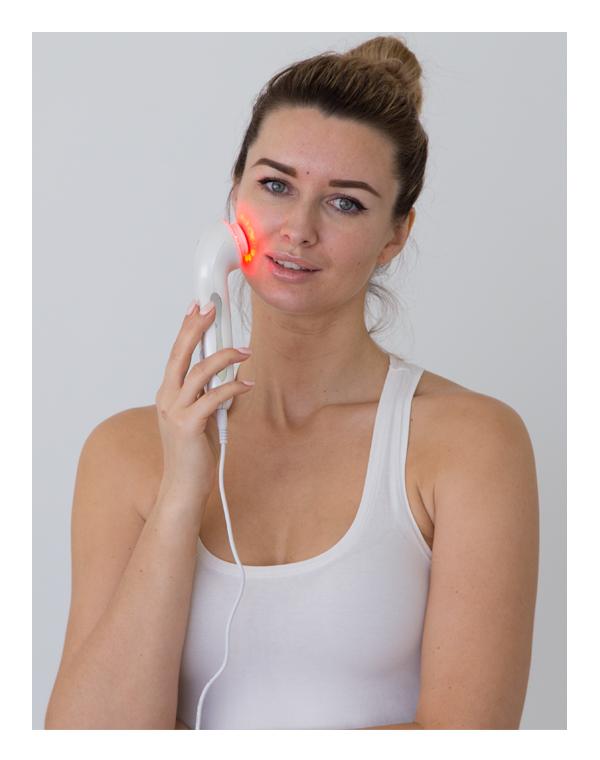 Массажер, аппарат GEZATONE Массажёр для лица ультразвуковой со светотерапией Superlifting Gezatone m356