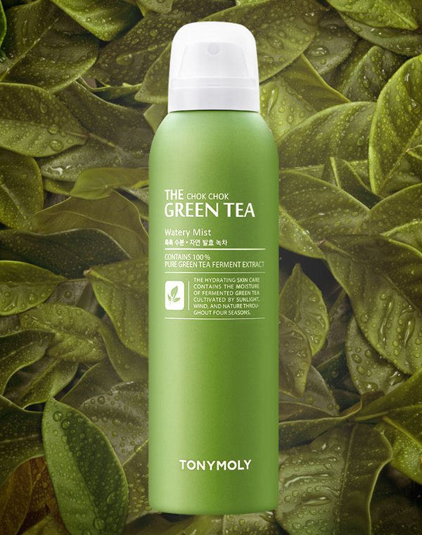 Тоник, лосьон Tony Moly Мист для лица с экстрактом зеленого чая The ChokChok Green Tea Watery Mist 50, Tony Moly