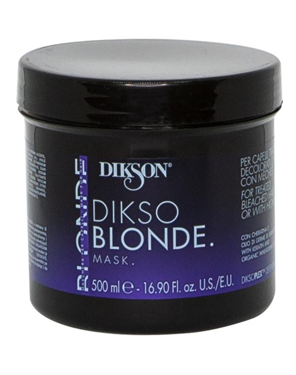 Маска для обработанных, обесцвеченных и мелированных волос Dikso blonde mask, Dikson, 500 мл фото