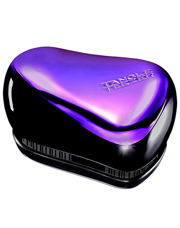 Расческа Compact Styler Purple Dazzle, Tangle Teezer tangle teezer расческа tangle teezer compact styler bright голубой розовый