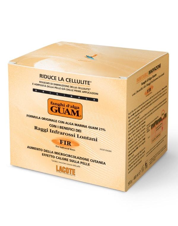 Купить Маска GUAM, Маска антицеллюлитная разогревающая с микрокристаллами Турмалина, GUAM
