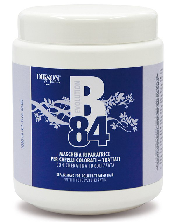 Восстанавливающая маска для окрашенных волос B84 Repair Mask For Colour-Treated Hair, Dikson 1