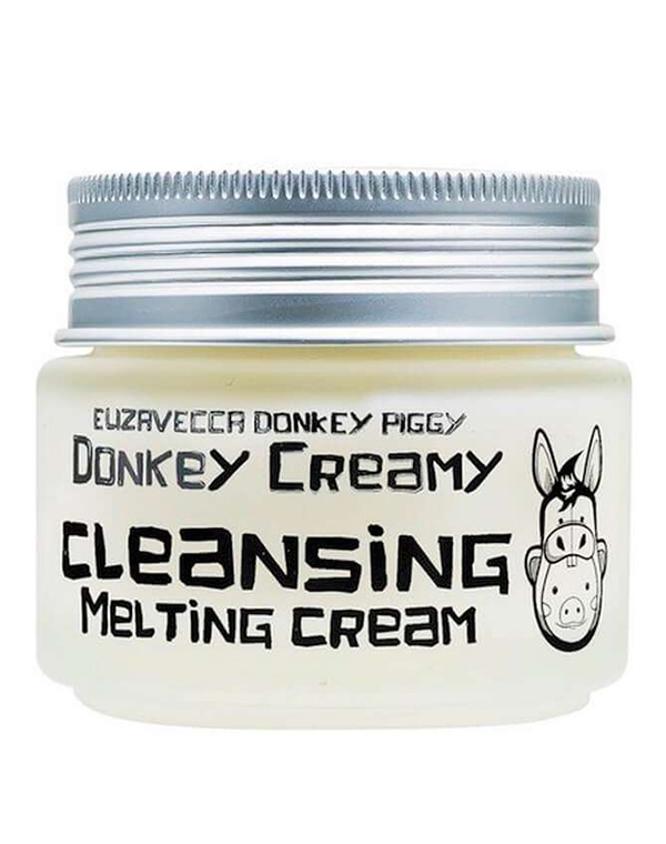 Крем Elizavecca Крем для лица на основе ослиного молока Donkey Creamy Cleansing Melting Cream Elizavecca, 100 г elizavecca