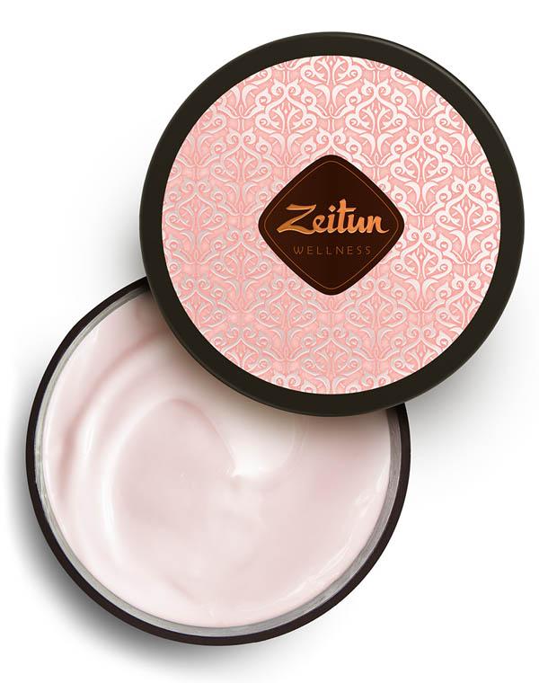 Крем для тела насыщенный смягчающий Ритуал нежности с дамасской розой и маслом персика Zeitun zeitun мыло бельди 3 с дамасской розой 250 мл