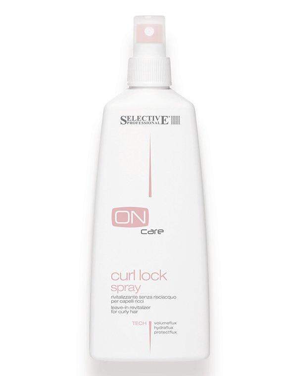 Спрей тонизирующий несмываемый для объема и вьющихся волос Curl Lock, Selective, 250 мл chi luxury black seed oil curl defining cream gel