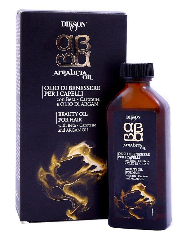 Масло для ухода за всеми типами волос Argabeta Oil, DiksonМаски для сухих волос<br>Масло мгновенно восстанавливает волосяную структуру, делая локоны более эластичными, простыми в стайлинге и здоровыми. Оно снимает статическое электричество и обладает мощным защитным потенциалом.<br><br>Бренды: Dikson<br>Вид товара: Масло для волос<br>Область ухода: Волосы<br>Назначение: Увлажнение и питание<br>Тип кожи, волос: Осветленные, мелированные, Окрашенные, Вьющиеся, Сухие, поврежденные, Жирные, Нормальные, Тонкие<br>Косметическая линия: Линия Argabeta Line Classic Luxe для ухода за всеми типами волос на осн масла арганы и бета-каротина<br>Объем мл: 100