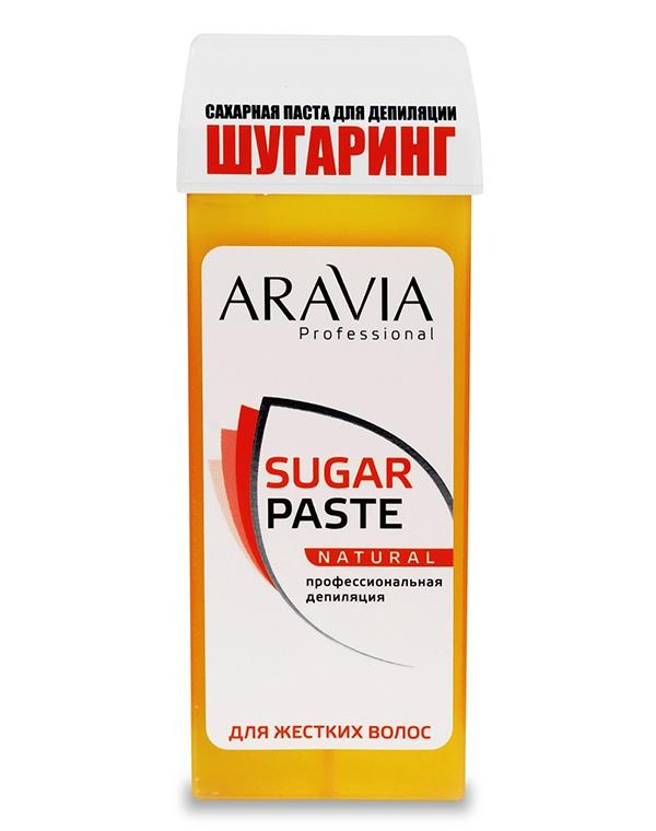 Сахарная паста для депиляции в картридже «Натуральная» мягкой консистенции, ARAVIA Professional, 150 гр