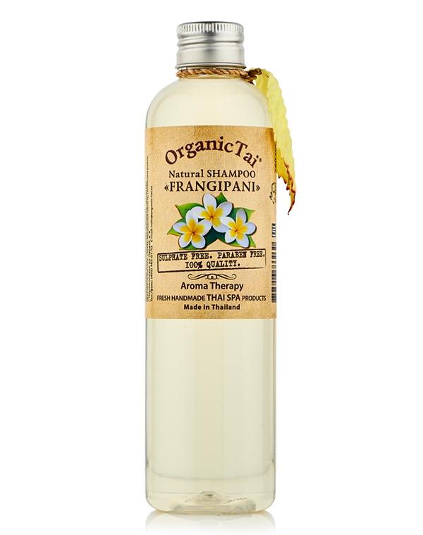 Шампунь Organic Tai Шампунь для волос натуральный «Франжипани» Organic Tai, 260 мл толстовка классическая picture organic basement ml zip blue