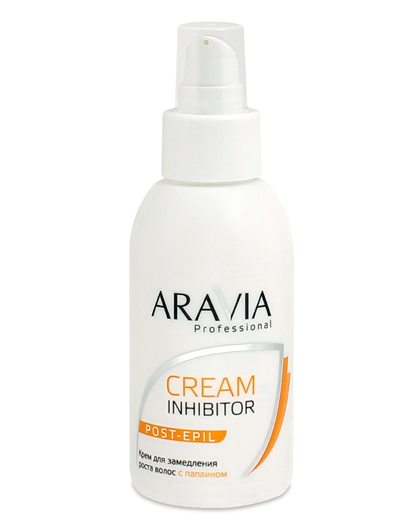 Косметика для депиляции Aravia Крем  замедления роста волос  папаином  Professional, 100 мл