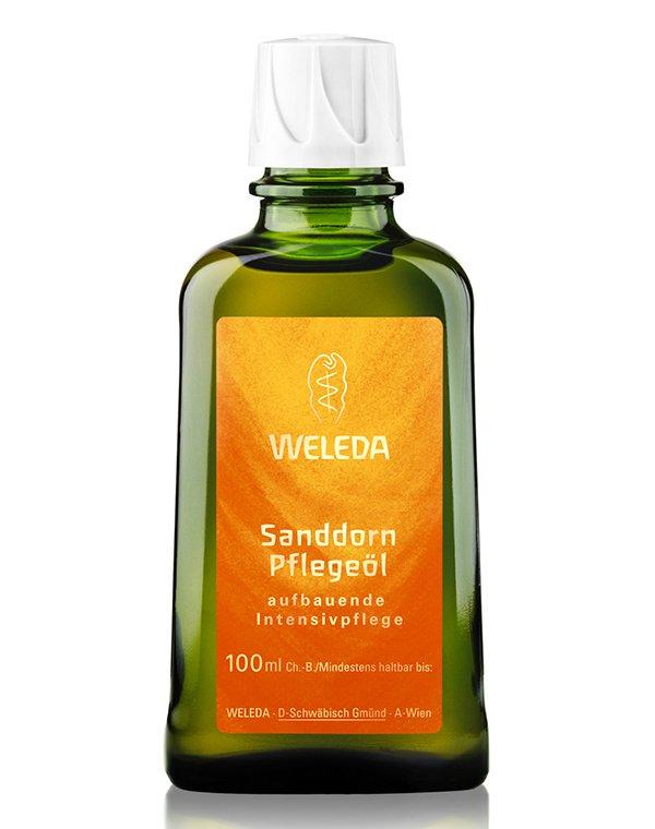 Масло Weleda Облепиховое питательное масло для тела, Weleda в какой аптекев пензе можно купить облепиховое масло для приема внутрь