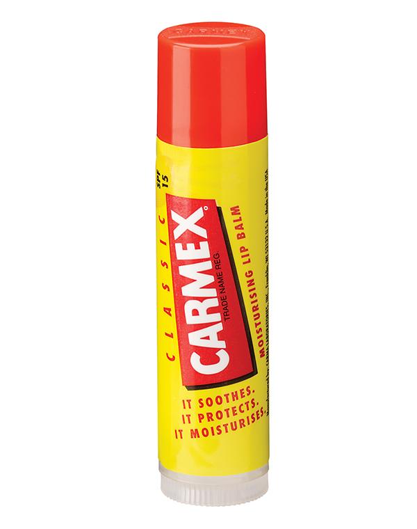 Бальзам CARMEX Солнцезащитный и увлажняющий бальзам для губ SPF 15 классический, стик в блистере, CARMEX carmex