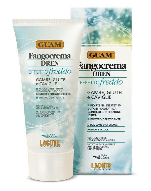 Крем антицеллюлитный с дренажным эффектом освежающий, GUAM, 200 мл крем антицеллюлитный для массажа guam 250 мл
