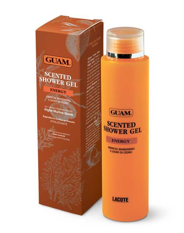 Купить Гель, флюид GUAM, Гель для душа ароматический «Энергия и Тонус» 200 мл GUAM, ИТАЛИЯ