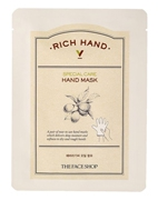Маскa для рук Rich Hand V Special Care Hand Mask, The Face Shop, 1.6 гр