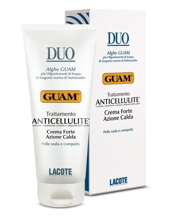 Крем антицеллюлитный с разогревающим эффектом интенсивный, GUAM, 200 мл guam крем антицеллюлитный с охлаждающим эффектом для массажа snell 250 мл