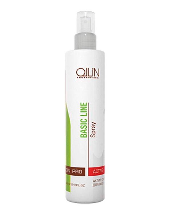 Несмываемый уход, защита Ollin Актив-спрей для волос Hair Active Spray Ollin
