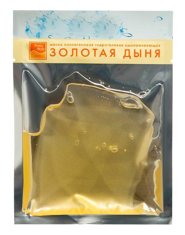 Маска Beauty Style Маска для лица гидрогелевая подтягивающая Beauty Style Золотая дыня