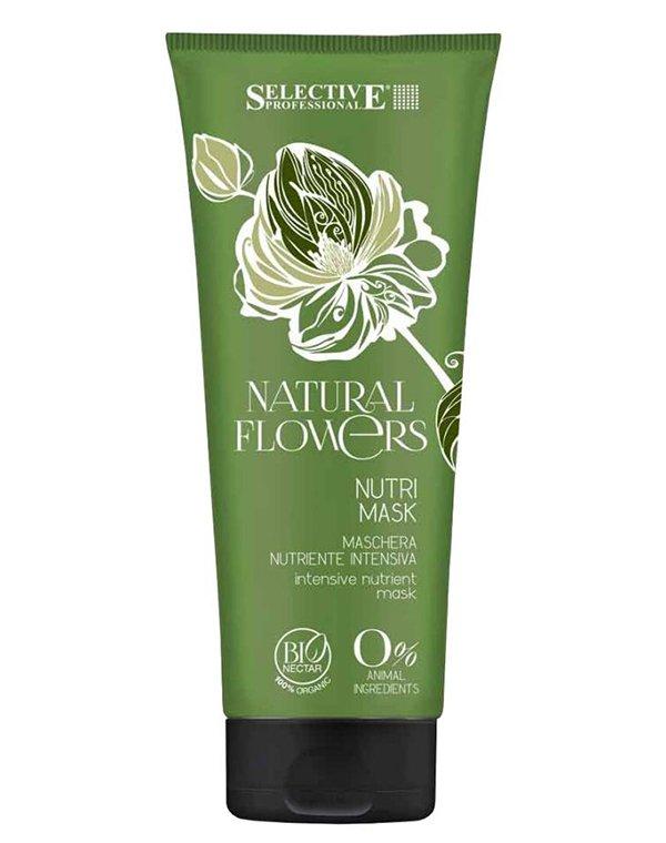 Маска питательная для восстановления волос Nutri Mask, SelectiveМаски для лечения волос<br>Маска специально разработана для ухода за ломкими волосами, ослабленными в результате химической завивки. Запускает процессы регенерации в волосяном фолликуле, укрепляет его изнутри. Способствует смягчению прядей, делает их податливыми в укладке. Не утяже...<br><br>Бренды: Selective<br>Вид товара: Маска для волос<br>Область ухода: Волосы<br>Назначение: Восстановление волос<br>Тип кожи, волос: Осветленные, мелированные, Окрашенные, Вьющиеся, Сухие, поврежденные, Тонкие<br>Косметическая линия: Natural flowers Линия с бионектаром<br>Объем мл: 1000