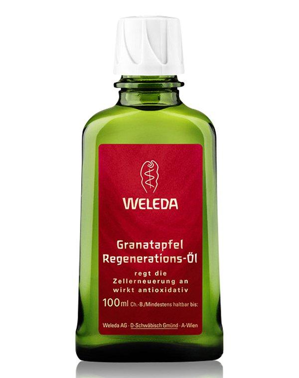 Гранатовое восстанавливающее масло для тела, Weleda - Косметика для массажа