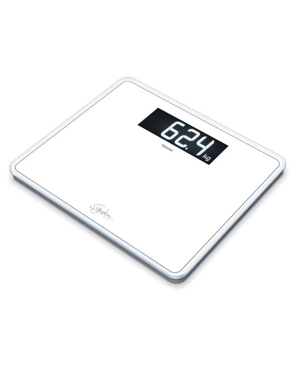 Весы диагностические стеклянные в минималистичном дизайне GS 410 Signature Line белый Beurer