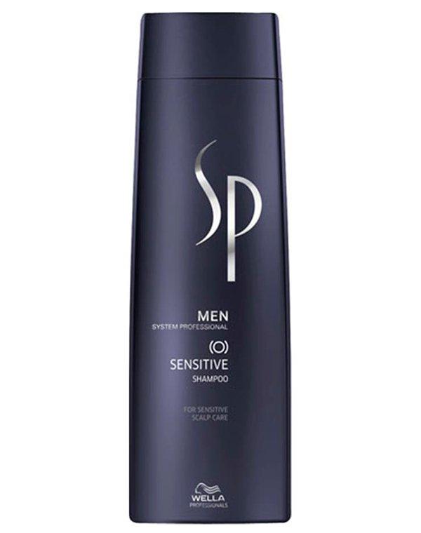 Шампунь для чувствительной кожи головы Sensitive Shampoo Men Wella SPШампуни для лечения волос<br>Шампунь мягко устранит любые повреждения и позаботится о коже головы.<br><br>Бренды: Wella System Professional<br>Вид товара: Шампунь<br>Область ухода: Голова, Волосы<br>Назначение: Очищение волос, Успокаивающее<br>Тип кожи, волос: Жирные, Нормальные, Тонкие<br>Косметическая линия: Линия SP MEN ухода за волосами для мужчин