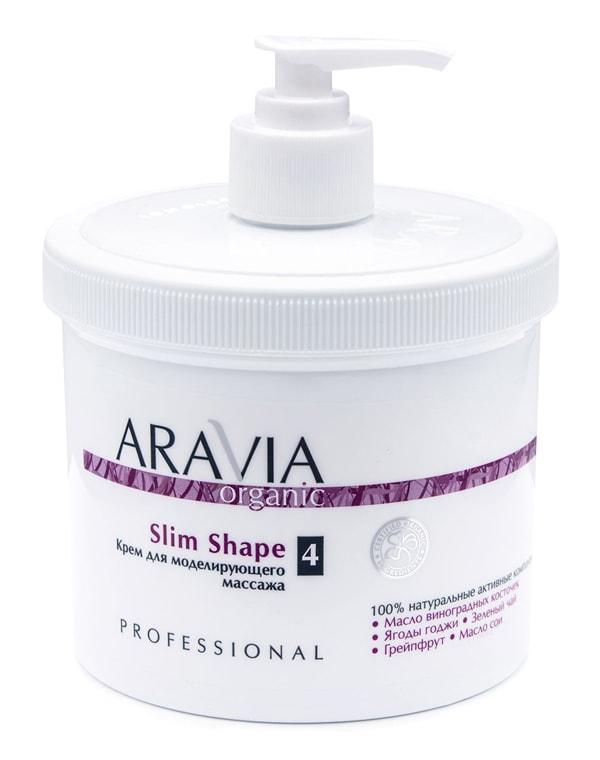 Купить Крем, бальзам Aravia, Крем для моделирующего массажа Slim Shape, ARAVIA Organic, 550 мл