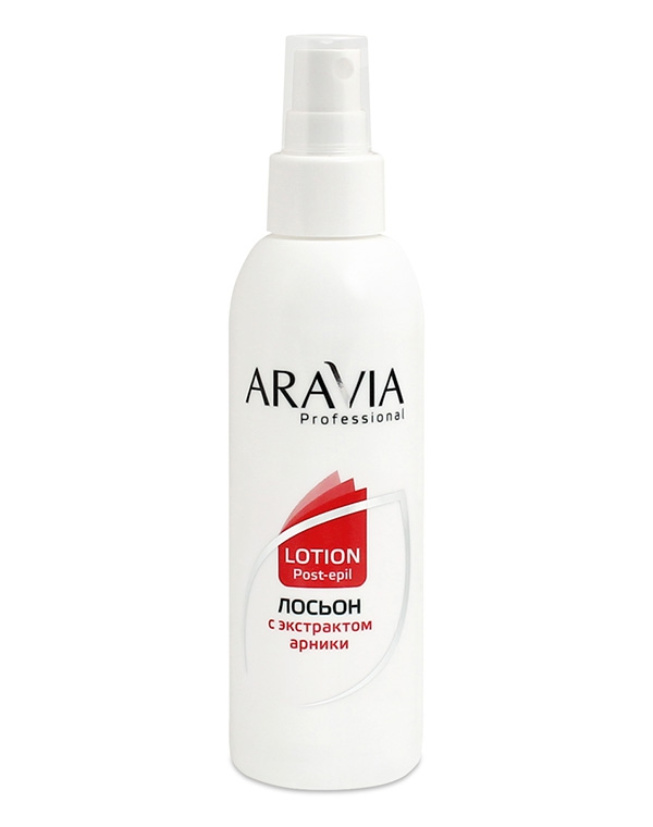 Лосьон для замедления роста волос с экстрактом арники, ARAVIA Professional, 150 мл