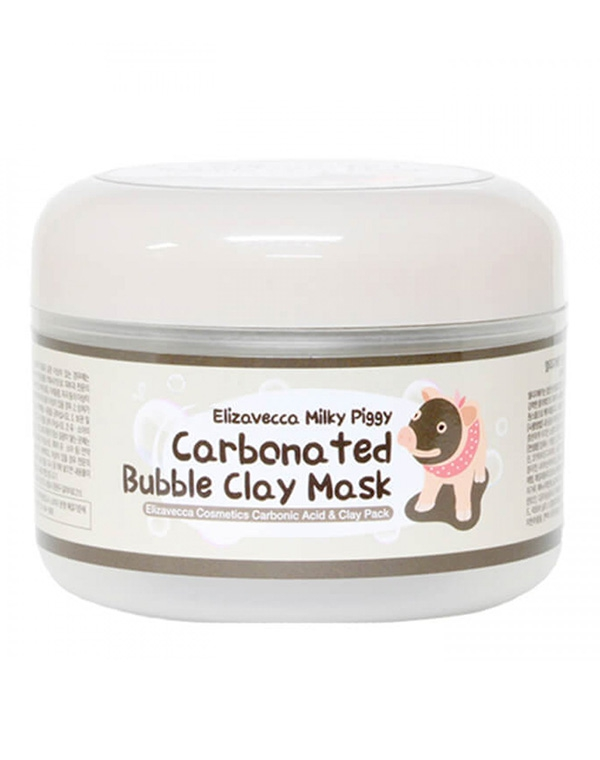 Очищающая кислородная маска Milky Piggy Carbona Ted Bubble Clay Pack Elizavecca, 100 мл other milky dress