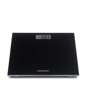 Весы персональные цифровые HN-289 (HN-289-EBK) черные, OMRON