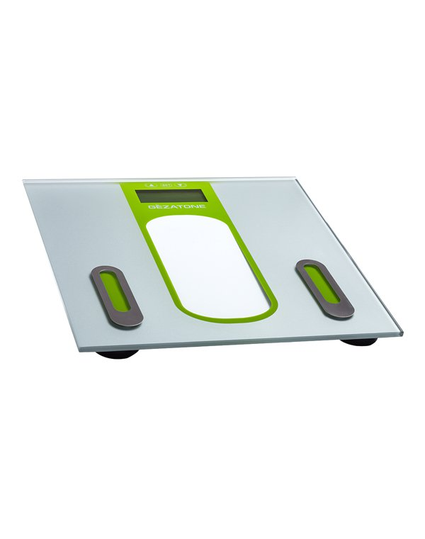 Весы GEZATONE ESG2802 Весы напольные с анализатором содержания жира и жидкости Gezatone