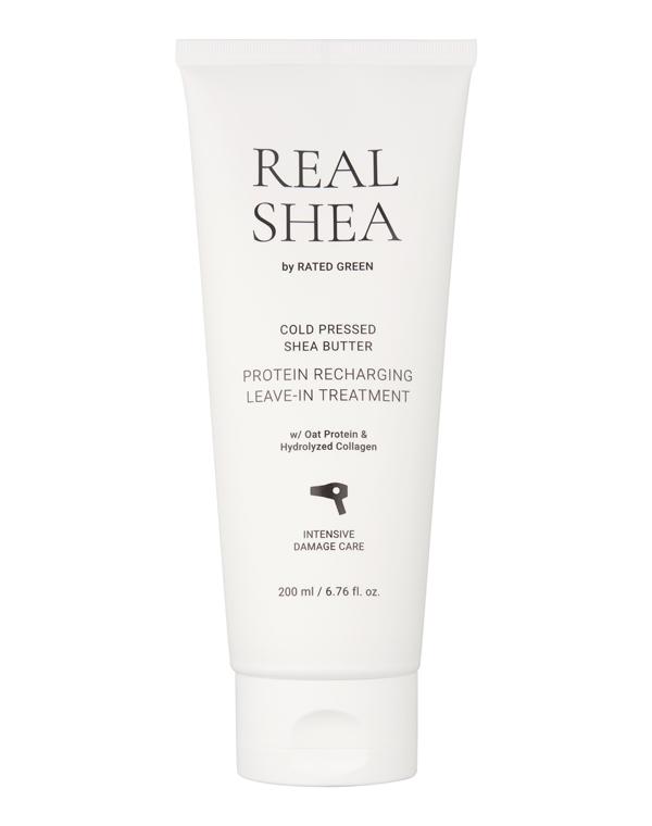 Купить Крем, бальзам Rated Green, Крем для волос восстанавливающий с маслом ши Cold Pressed Shea Butter Protein 150 мл Rated Green