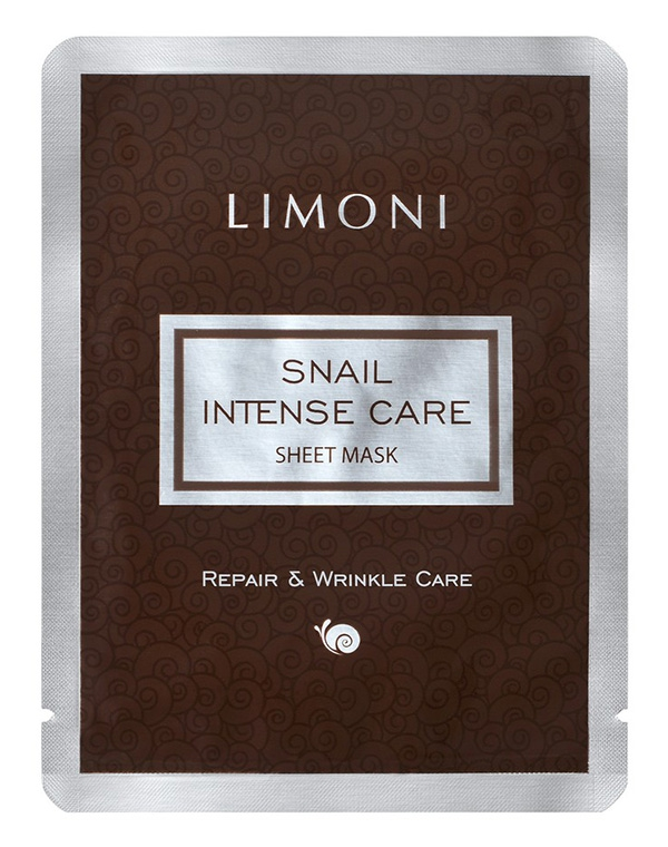 Интенсивная маска для лица с экстрактом секреции улитки Sheet Mask Limoni, 18 гр помада limoni limoni li024lwhgt01