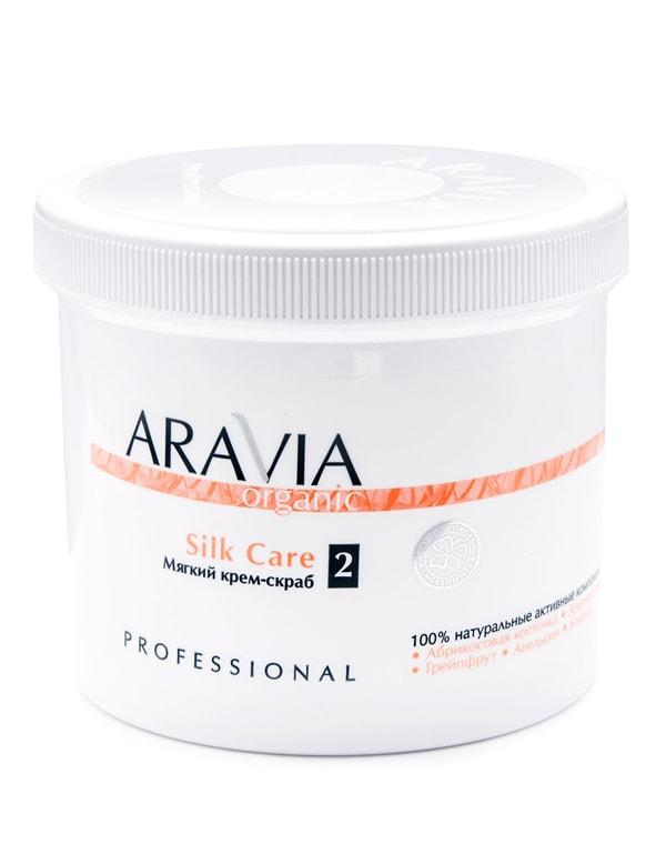 Мягкий крем-скраб Silk Care, ARAVIA Organic, 550 мл фото