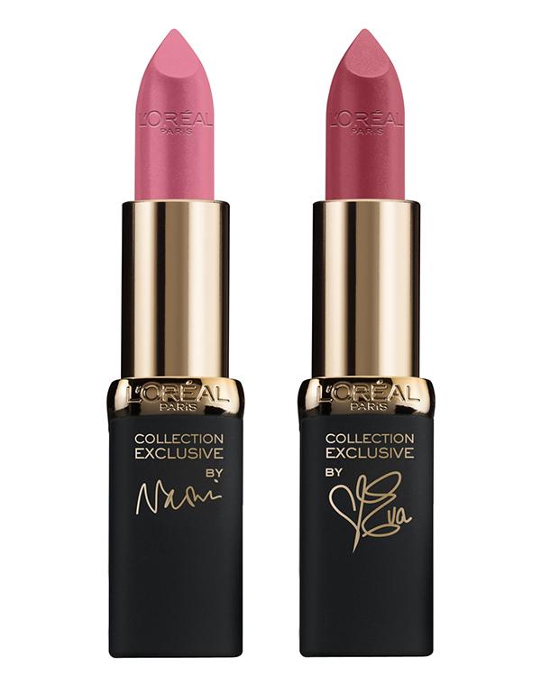 Помада Loreal ParisДекоративная косметика для губ<br>Розовая помада от «Лореаль» для создания элегантных и женственных образов. &#13;<br>&#13;<br># Розовый для Наоми&#13;<br># Розовый для Евы<br><br>Бренды: Loreal Paris<br>Вид товара: Помада<br>Область ухода: Губы<br>Назначение: Ежедневный уход<br>Возрастная группа: Более 40, До 30, До 40<br>Цвет: # Розовый для Наоми