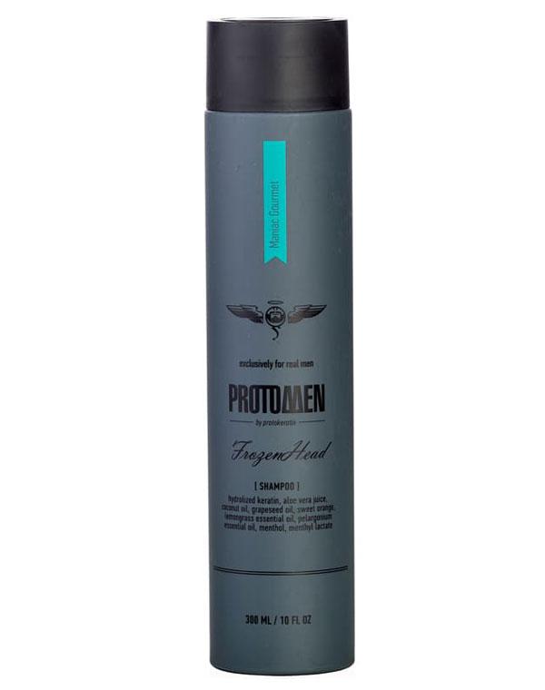 Крио-Шампунь мужской для душа FrozenHead 300 мл Protokeratin ducray неоптид лосьон от выпадения волос для мужчин 100 мл