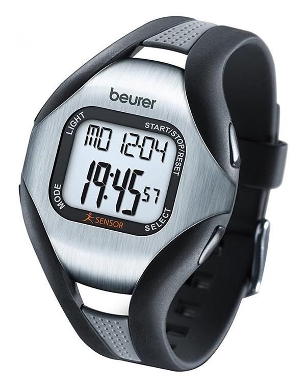 Часы-пульсометр PM 18, Beurer, чёрный цена 2017